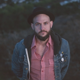 Singer/songwriter Nic Whitehouse in Victoria, BC, Canada